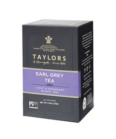 Taylors Scottish Breakfast Tea box of 20 wrapped tea bags. Scottish Breakfast is a blend of tea from Africa and Assam region of India. Scotland is famous for its water. Taylors Scottish Breakfast is designed specifically for Scotland's soft water Earl Grey Tee, Earl Gray, Lapsang Souchong Tea, English Tea Store, Golden Tea, Online Shopping, Shops, Grey Tea, Breakfast Tea