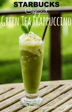 Favourite ones! Starbucks Copycat Green Tea Frappuccino.