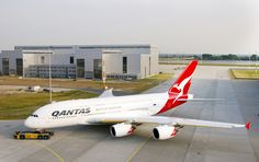 """Airbus A380 VH-OQA """"Nancy Bird Walton"""" owned and operated by Qantas Airways"""