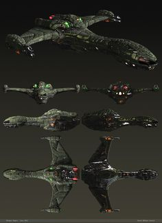 Presentation - Klingon Raptor by dlamont on DeviantArt