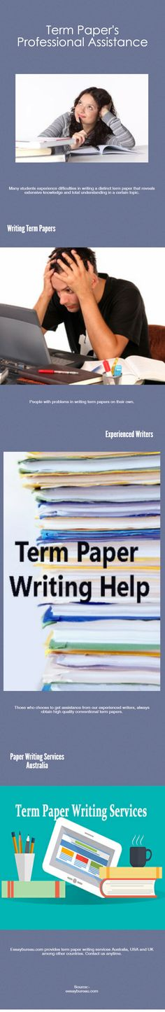 writing academic term papers