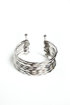 Stack Up Cuff - Silver