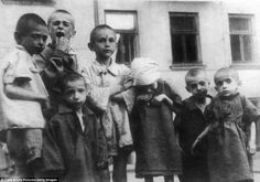 Nazi occupiers established Warsaws ghetto in October 1940 to put Jewish occupants into a controlled zone away from the general population. Children in the Ghetto.