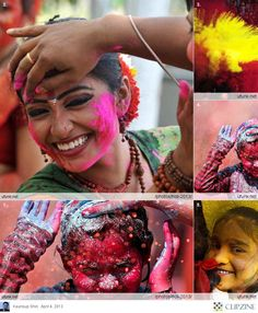 Colorful Journey - Holi that marks the beginning of spring and a nice way to spread love. #HOLI