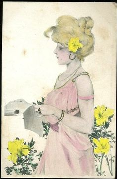 Maid of Athens - Raphael Kirchner