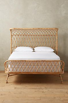 Curved Rattan Bed - anthropologie $1,998 plus $149 unltd shipping