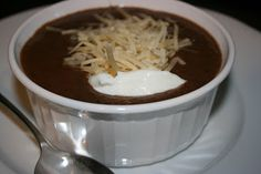 Black Bean Soup: The original Year of Slow Cooking site (CrockPot 365) by slow-cooking expert Stephanie O'Dea