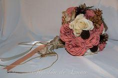 Algodón de Luna: Ramo de flores con piñas y una historia en Canfranc.