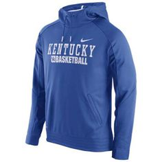 Kentucky Wildcats Adult Elite Basketball Performance Hooded Sweatshirt - Royal - Campus Colors #kentuckywildcats