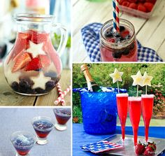 July 4th Party Ideas! on http://pizzazzerie.com