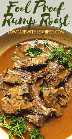Rump Roast - Crock Pot or Pressure Cooker - Instant pot recipes - This Fail Proof Rump Roast recipe will give you tender rump roast every time. This recipe gives instructions for using the Crock Pot or an Instant Pot Pressure Cooker. Cooking A Rump Roast, Crockpot Rump Roast, Rump Roast Recipes, Slow Cooker Roast, Beef Recipes, Rump Roast Pressure Cooker, Best Recipe For Rump Roast, Lunch Recipes, Recipies