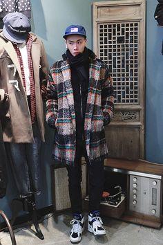 men's habito laboratorio - H O L I G A N - #men #outfit #winter
