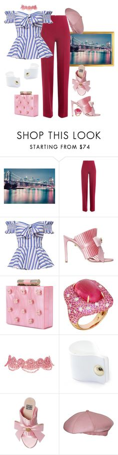 """Untitled #356"" by tobyb976 ❤ liked on Polyvore featuring WALL, Emilia Wickstead, Caroline Constas, FAUSTO PUGLISI, Katherine Kwei, Margot McKinney, Amrita Singh, Flake and Norman Norell"
