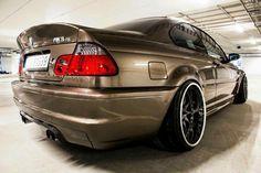 BMW E46 M3 CSL bronze
