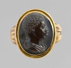 Cameo with Bust of an African Boy, late sixteenth century, most likely  Venetian.