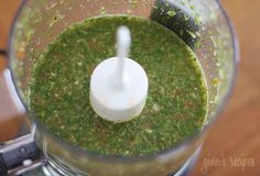 Aji picante is a spicy Colombian hot sauce served with soups, sancocho, stews, rice, beans, empanadas and more. Every Latin country has there own version of a spicy hot sauce, each unique and delicious. This is my mom's recipe, she never measures when she cooks so it was a bit tricky getting her measurements right. A little goes a long way, you only need to add a few teaspoons to whatever you put this on. To save time, I used my mini food processor.  Colombian Aji Picante Gina's Weight…