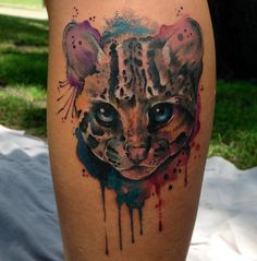 13 Gorgeous animal tattoos that will make you want to get inked: Fox and flowers