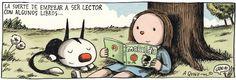 La suerte de empezar a ser lector con algunos libros...
