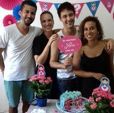 Nome do bebê - Casal Tiago e Gabi