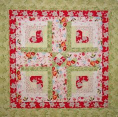 (7) Name: 'Quilting : Candy Hearts