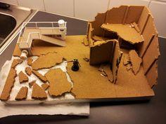 Step by step terrain building Game Terrain, 40k Terrain, Wargaming Terrain, Diaroma Ideas, Warhammer Terrain, Diy Table Top, Lego, Tiny World, Miniature Crafts