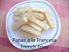 Papas a la Francesa. French Fries