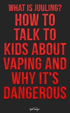 What Is Juuling? How To Talk To Kids About Vaping And Why It's Dangerous | Dr. Sheryl Ziegler | YourTango