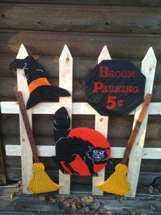 Broom parking fence 50.00