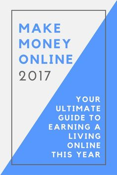 Ready to make money online in 2017?! I'm sharing the BEST ways to make money online this year, from starting your own business to taking surveys and more!