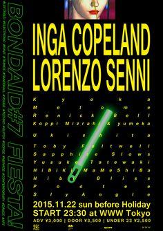 BONDAID#7 FIESTA! Inga Copeland & Lorenzo Senni | meltingbot