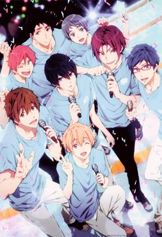 Find images and videos about anime, free! and free! eternal summer on We Heart It - the app to get lost in what you love. Free Eternal Summer, Anime Love, Anime Guys, Manga Anime, Anime Art, Manga Boy, Rin Free, Male Character, Swimming Anime