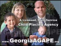 Christian Adoption Services East Point GA, Georgia AGAPE, 770-452-9995, ... https://youtu.be/PXPr0O6RUFE
