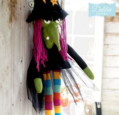 Witchy Long Legs by Debbie Shore | Create and Craft