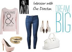 """""""1D interview."""" by mechesavila ❤ liked on Polyvore"""