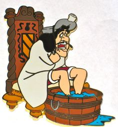 LE Disney Auction Pin✿Peter Pan✿Captain Hook✿Warming Up Feet✿Water✿Pirate✿Boat