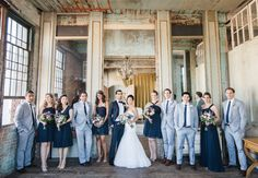 Couple Marries in a Former Electrical Parts Factory — Wedding Photos Here!