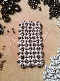 You Asked For It: More Right-angle Weave With Two-holed Seed Beads - Beading Daily  #Seed #Bead #Tutorials