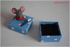 Manualidades Infantiles: Ratoncito Pérez Guarda Dientes.  http://www.kidearea.com/manualidades-infantiles-ratoncito-perez-guarda-dientes/  #manualidadesinfantiles #manualidadesparaniños #craftsforkids#craftsforchildren #guardadientes #keep #teeth #ratoncitoperez#jumpingclay