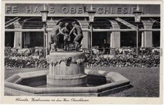 Gliwice :: VintagePostcards-Archive Beautiful Buildings, Old Photos, Statue Of Liberty, Black And White, City, Travel, Old Pictures, Statue Of Liberty Facts, Viajes