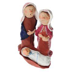 Mary, Joseph and baby Jesus..