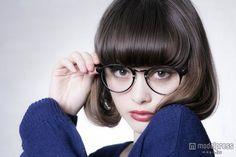 玉城ティナのメガネ姿にドキッ ファンから好評 の写真 - モデルプレス