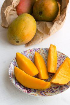 Mango ice-cream...yum!