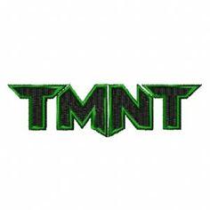 Teenage Mutant Ninja Turtles Symbol | Teenage Mutant Ninja Turtles logo machine embroidery design