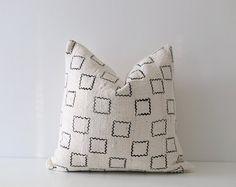 African Mudcloth Pillow 'Raj'