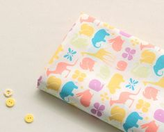 cotton 1yard (44 x 36 inches) 67381 by cottonholic on Etsy