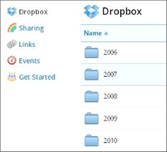 Dropbox - sync and share files