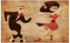 Swing Dance by lambi on DeviantArt Artisit Michael Lombardi Swing Jazz, Swing Dancing, Ballroom Dancing, Swing Low Sweet Chariot, Cultural Dance, Electro Swing, Lindy Hop, Dance Lessons, Lets Dance