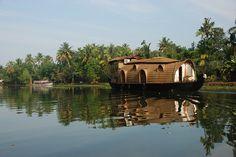 House boat- Kerala, India