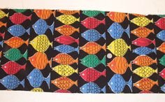 Vintage 50s towelling fabric