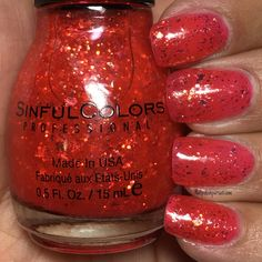 Devil's Stare by SinfulColors from the Star Stuck Collection | Nailpolishpursuit.com